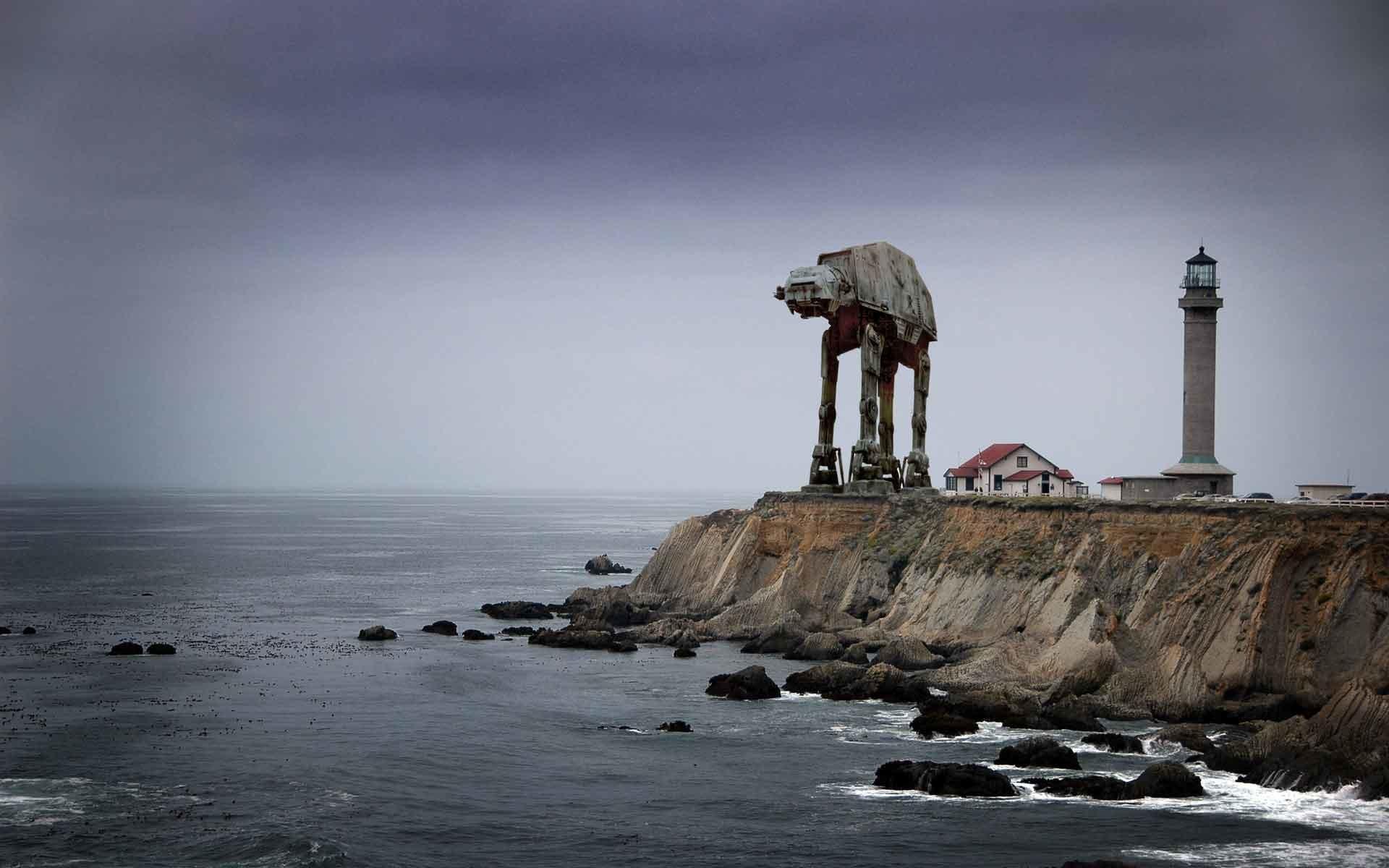 Cool War Robot Wallpaper High Quality Hd - Point Arena Lighthouse , HD Wallpaper & Backgrounds