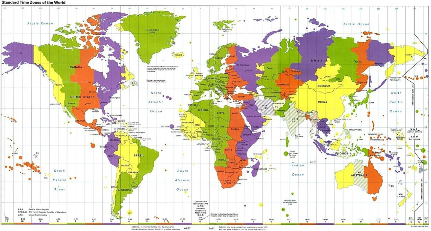 World Map Hd Wallpaper On Quality Paper Paper Print - Printable World Time Zones Map , HD Wallpaper & Backgrounds