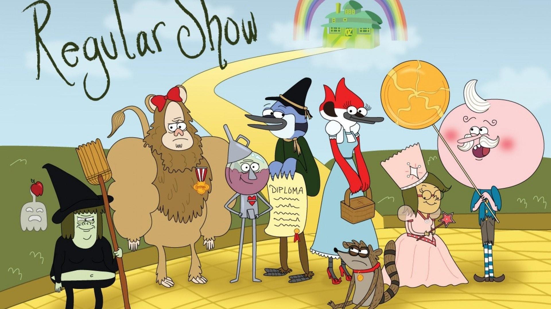 Download - Regular Show Cartoons , HD Wallpaper & Backgrounds