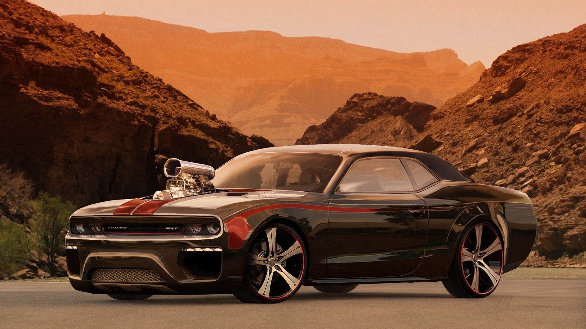Awesome Dodge Challenger Wallpaper High Resolution Car Hd 344538 Hd Wallpaper Backgrounds Download