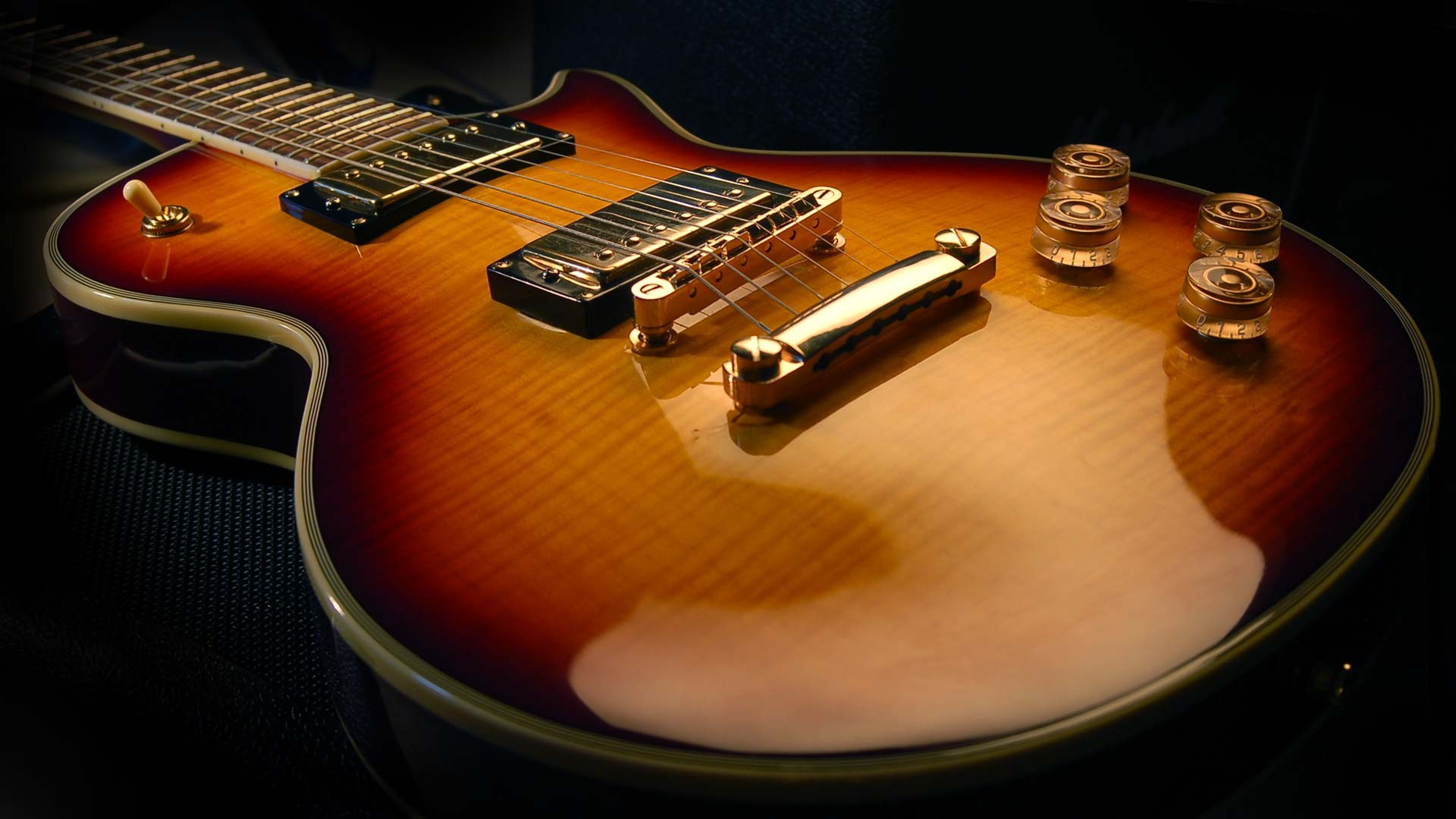 Electric Guitar Wallpapers Download Pic Wpb006945 Wallpapers - Gibson Les Paul Hd , HD Wallpaper & Backgrounds