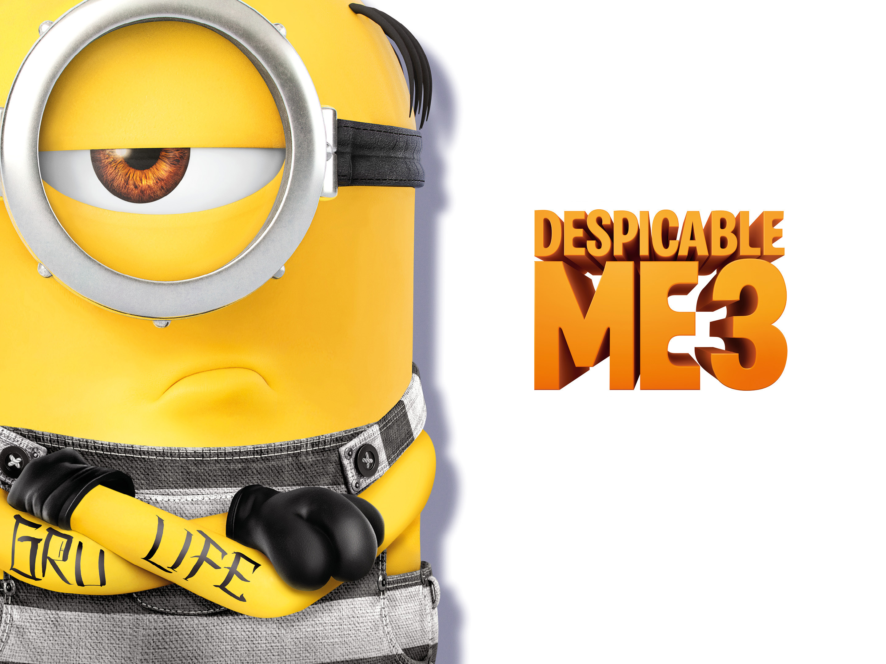 Wallpaper Despicable Me, Minion, Character - Despicable Me 3 , HD Wallpaper & Backgrounds