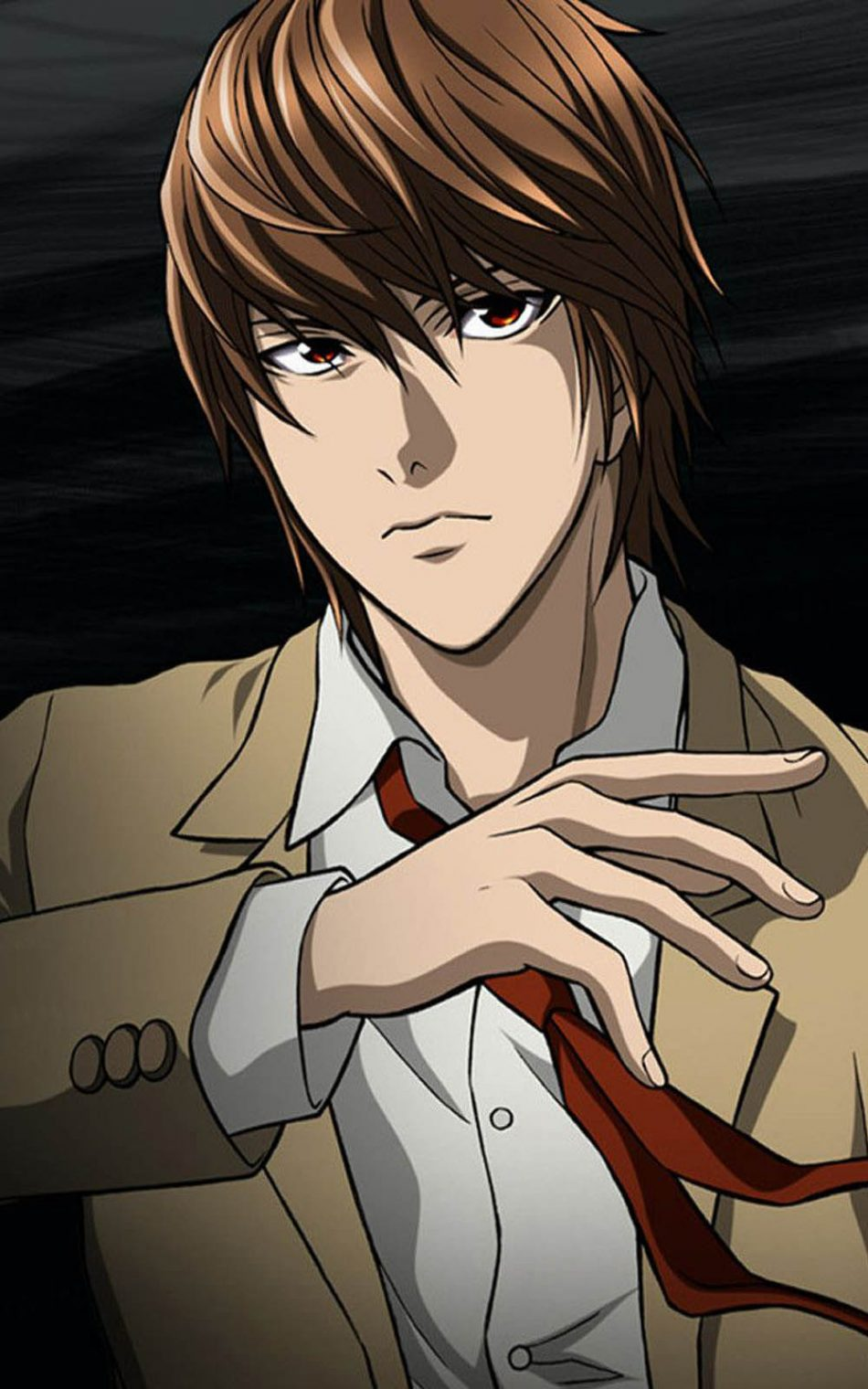 Yagami Light Hd Mobile Wallpaper Light Death Note