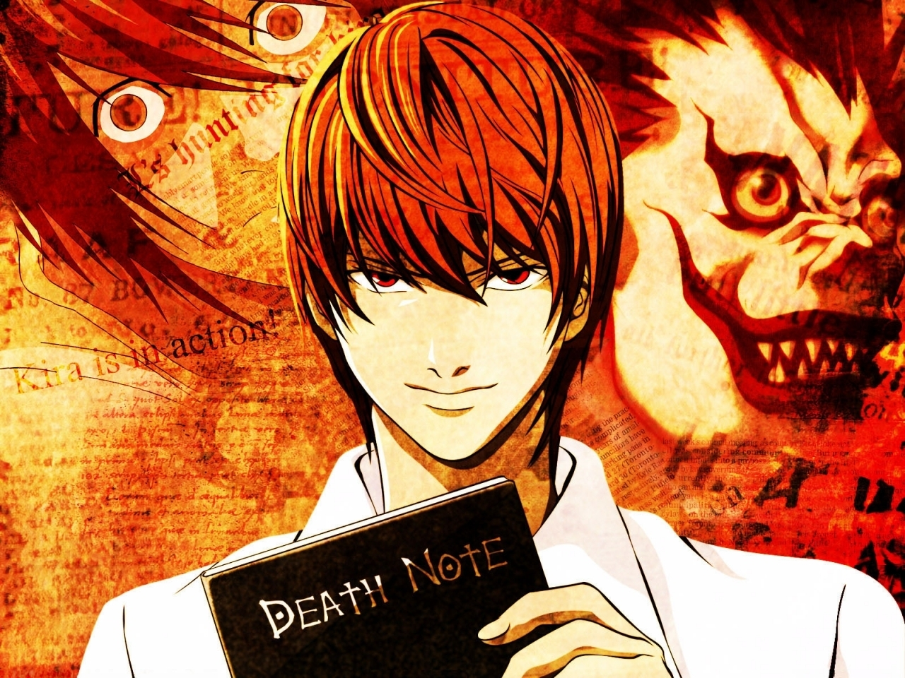 Light Kira Light Yagami Death Note Hd 346886 Hd