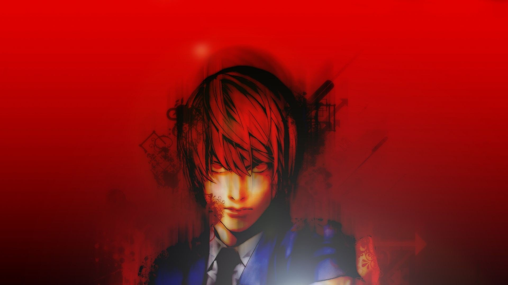Death Note Kira Red 347160 Hd Wallpaper Backgrounds