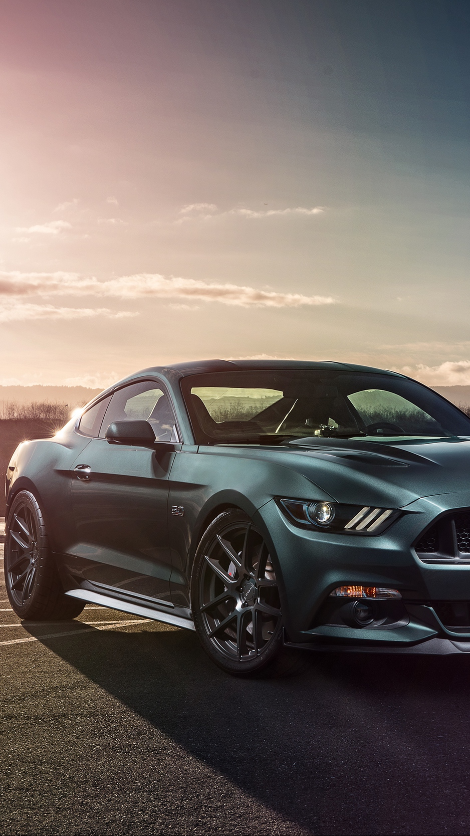 Wallpaper Ford Mustang Gt, Ford, Side View, Sports - Ford Mustang Mach 1 2020 , HD Wallpaper & Backgrounds