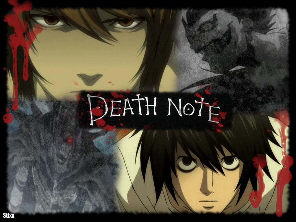 Death Note Book Light Death Note 347832 Hd Wallpaper