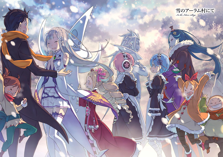 Hd Wallpaper - Re Zero Kara Hajimeru Isekai Seikatsu Memory Snow , HD Wallpaper & Backgrounds