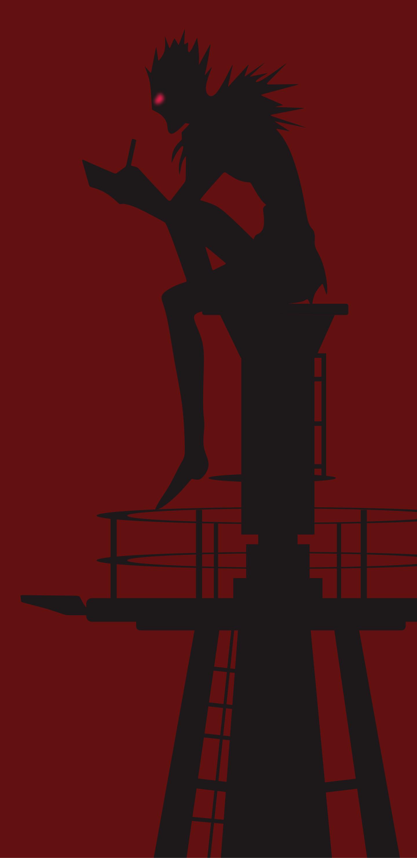 Ryuk Anime Death Note Mobile Wallpaper Illustration