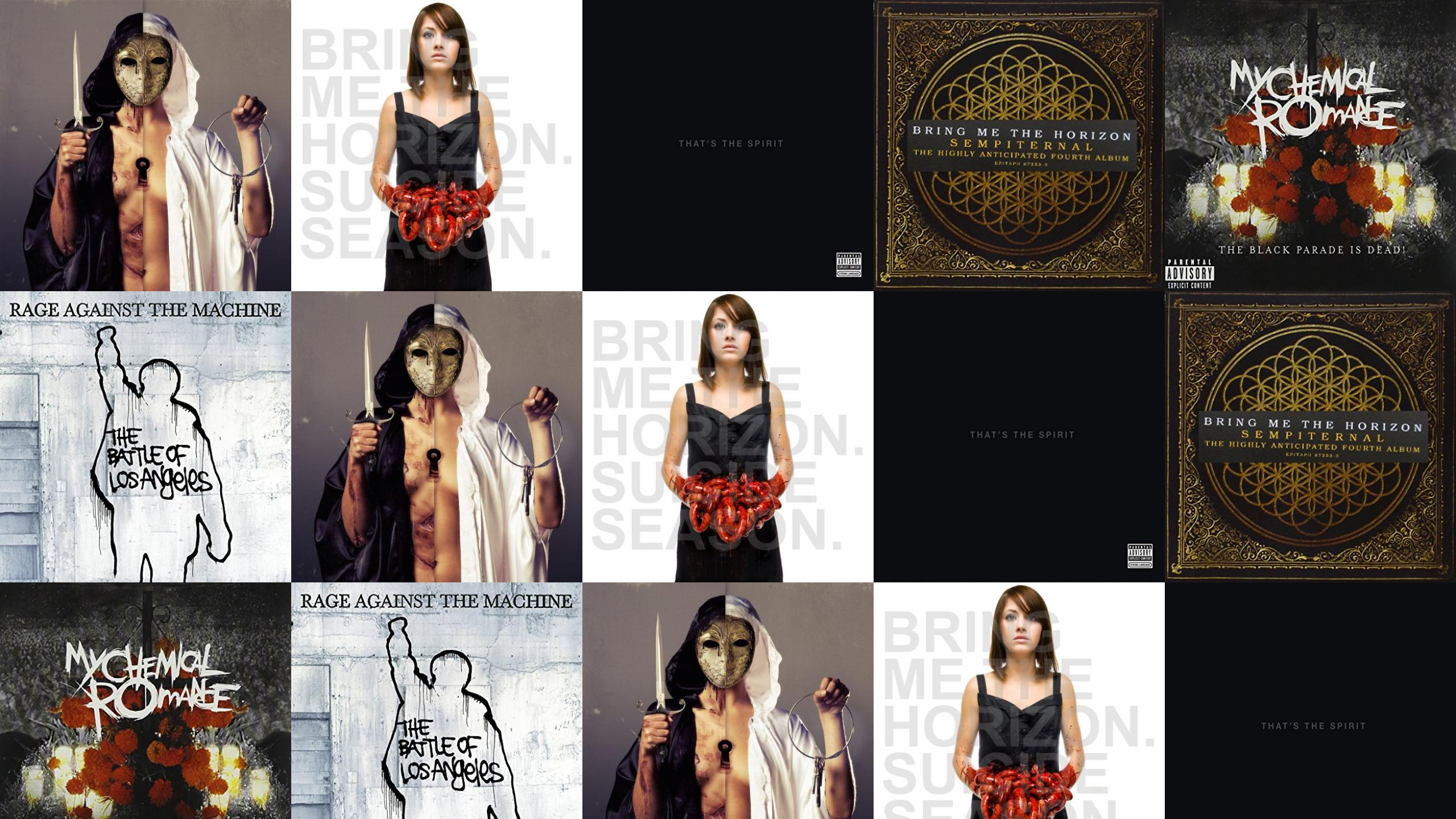 Search Wallpapers - Bring Me The Horizon There's A Hell , HD Wallpaper & Backgrounds