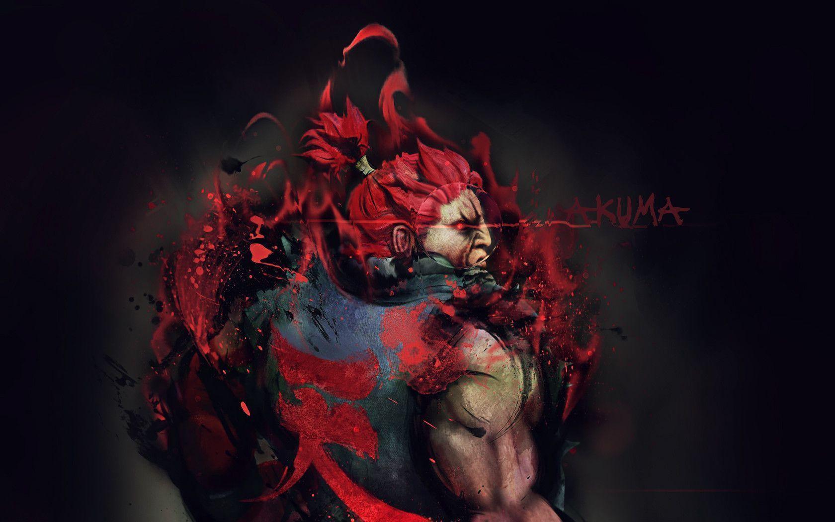 Akuma Wallpaper - Akuma Street Fighter 4 , HD Wallpaper & Backgrounds