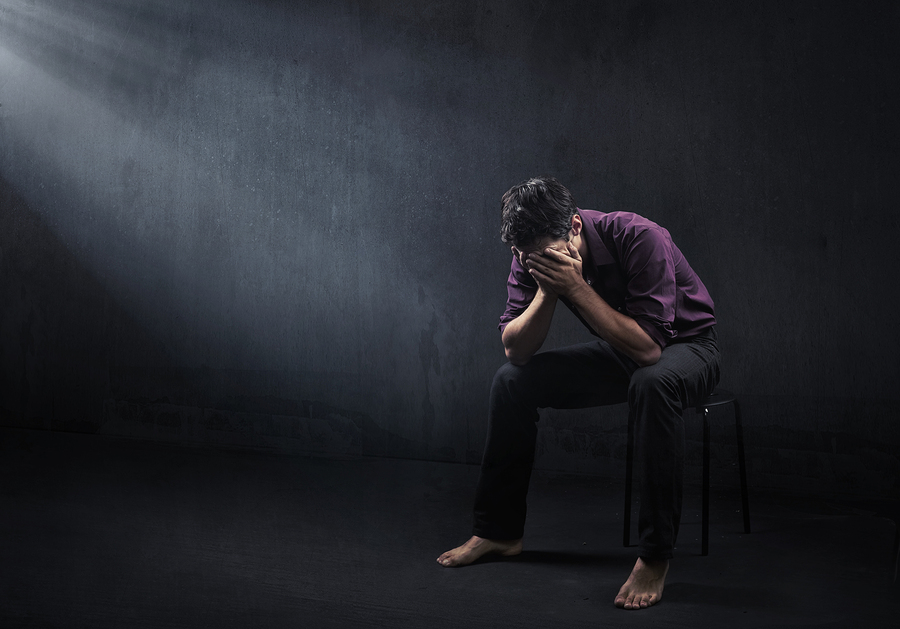 Download Disturbed Sad Man Man In Depression 350389