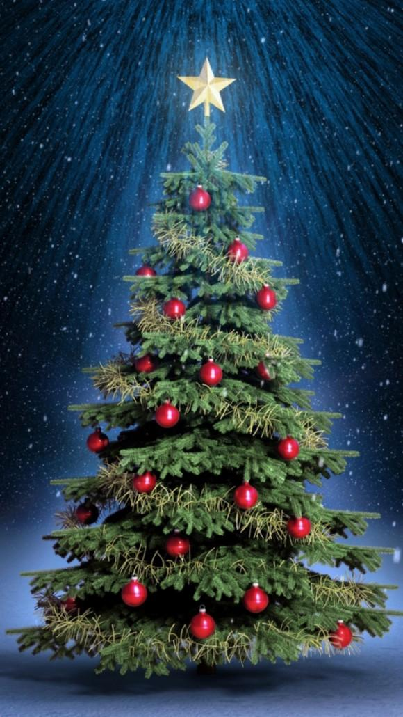 Free Christmas Wallpaper For Android Christmas Tree At