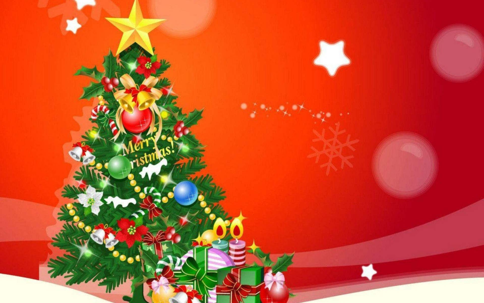 Wallpaper Holiday - Merry Christmas Background Hd , HD Wallpaper & Backgrounds