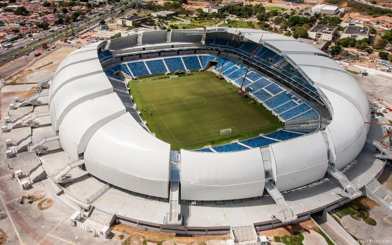 Natal Arena Das Dunas Stadium For Fifa World Cup 2014 - Arena Das Dunas In Natal , HD Wallpaper & Backgrounds