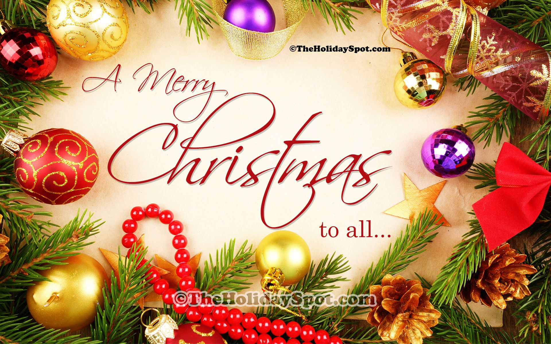 Free Christmas Wallpapers , Christmas Wishes Images Download