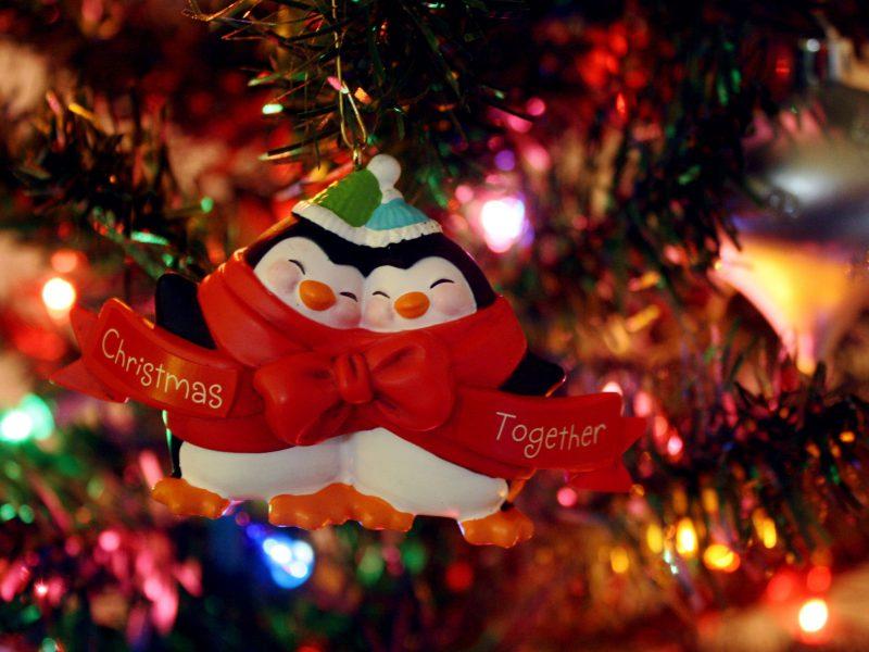 Ornaments Cute Free Christmas Wallpaper Downloads Fond D