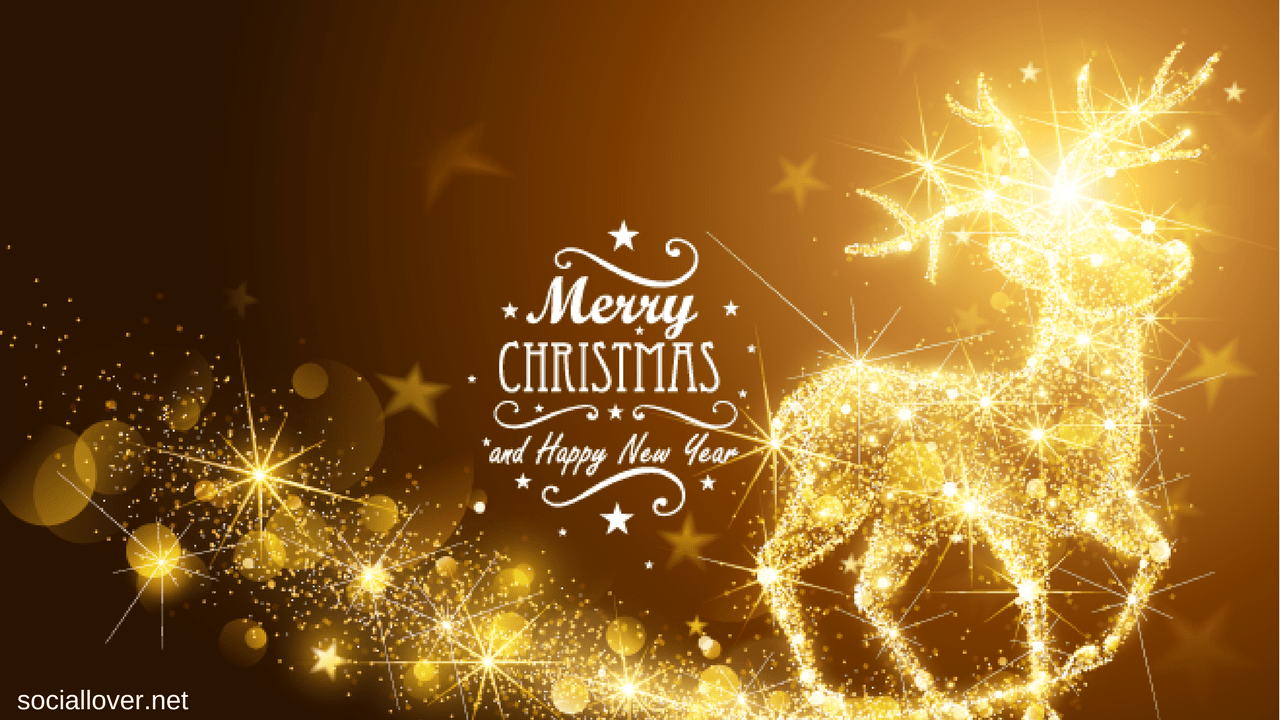 Merry Christmas Images With Happy New Year - New Merry Christmas Images Hd , HD Wallpaper & Backgrounds