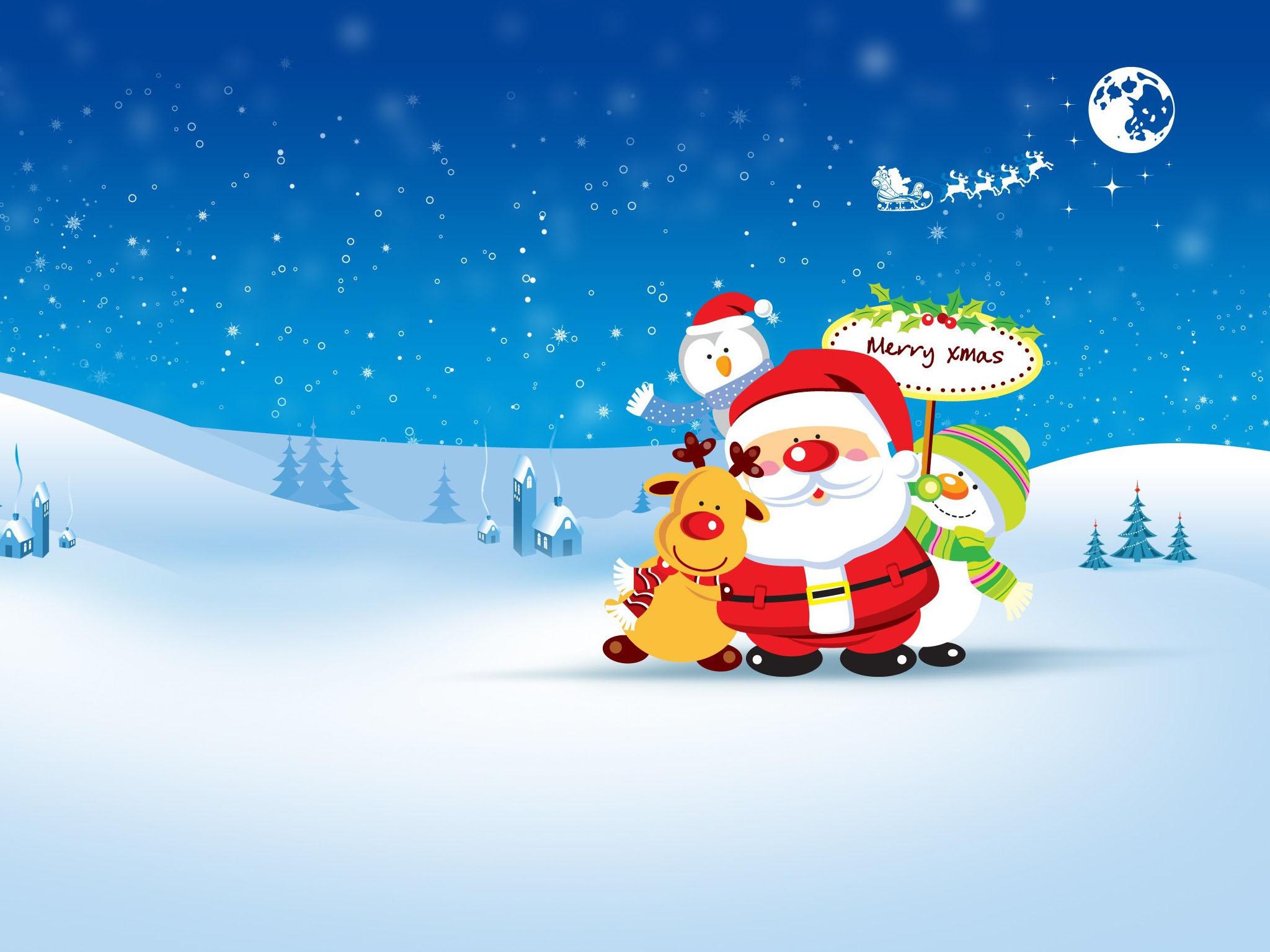 Christmas Wallpaper Cute - Merry Christmas Good Job , HD Wallpaper & Backgrounds