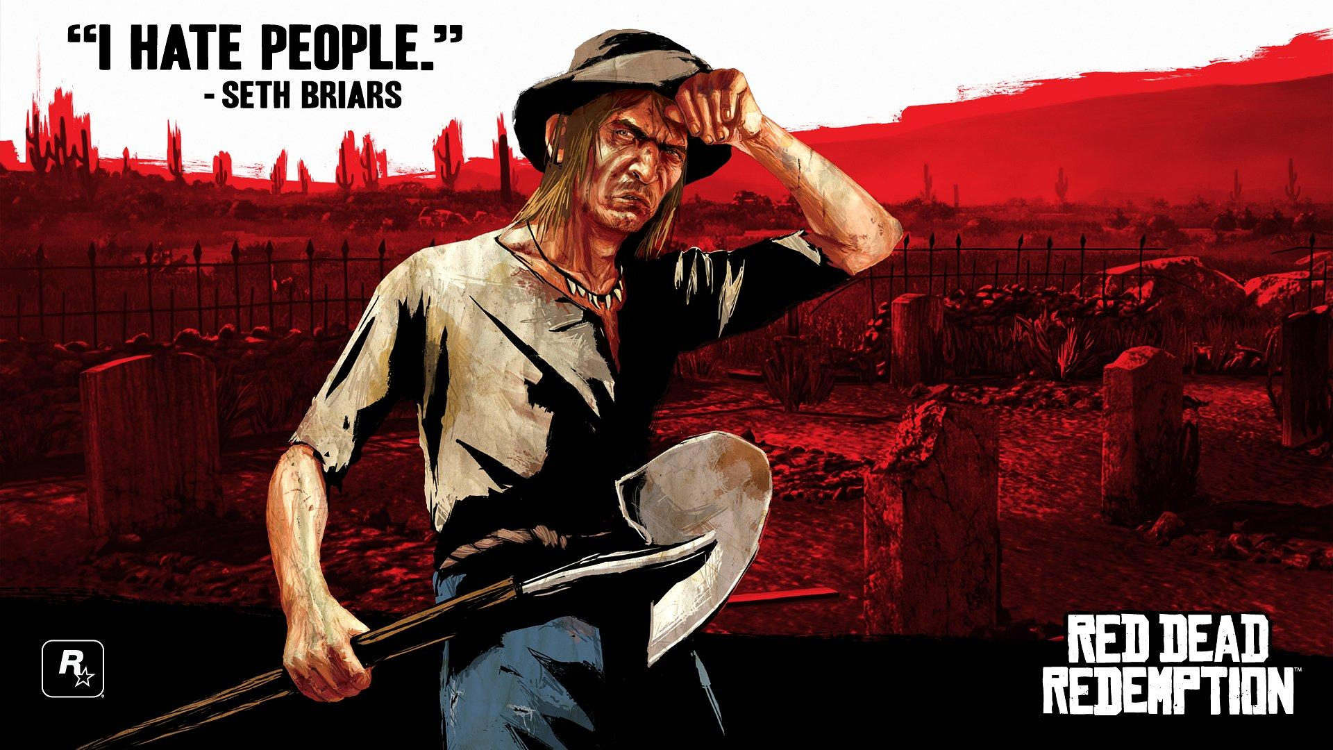 Red Dead Redemption Wallpaper Red Dead Redemption Seth Briars