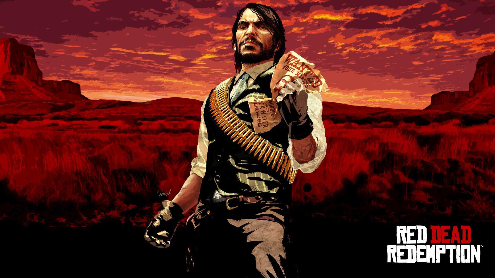 Red Dead Redemption Wallpaper Hd Red Dead Redemption John