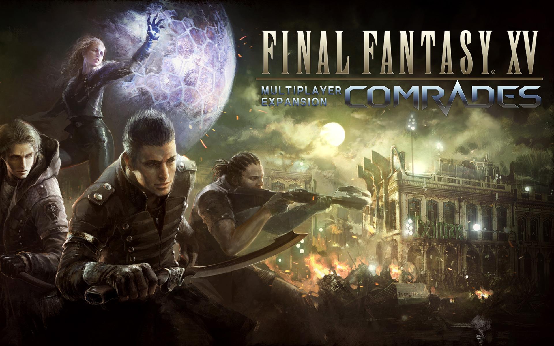 Final Fantasy 15 Comrades 354016 Hd Wallpaper Backgrounds