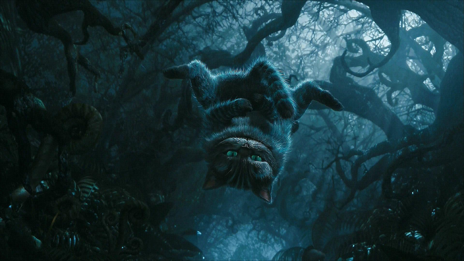 Cheshire Cat Alice In Wonderland Movie Desktop Wallpaper