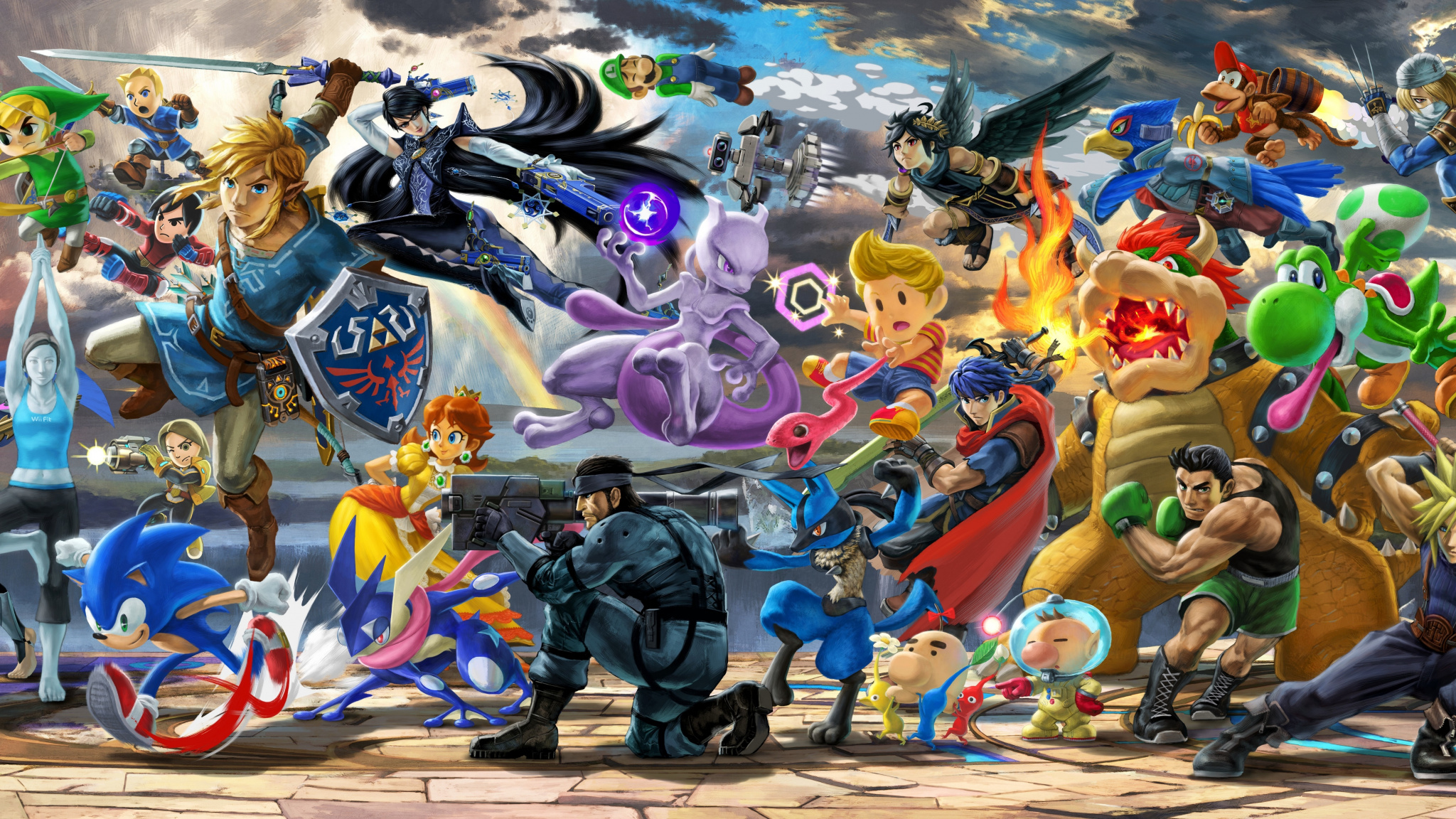 Wallpaper 2018 Nintendo Switch Super Smash Bros Smash Bros