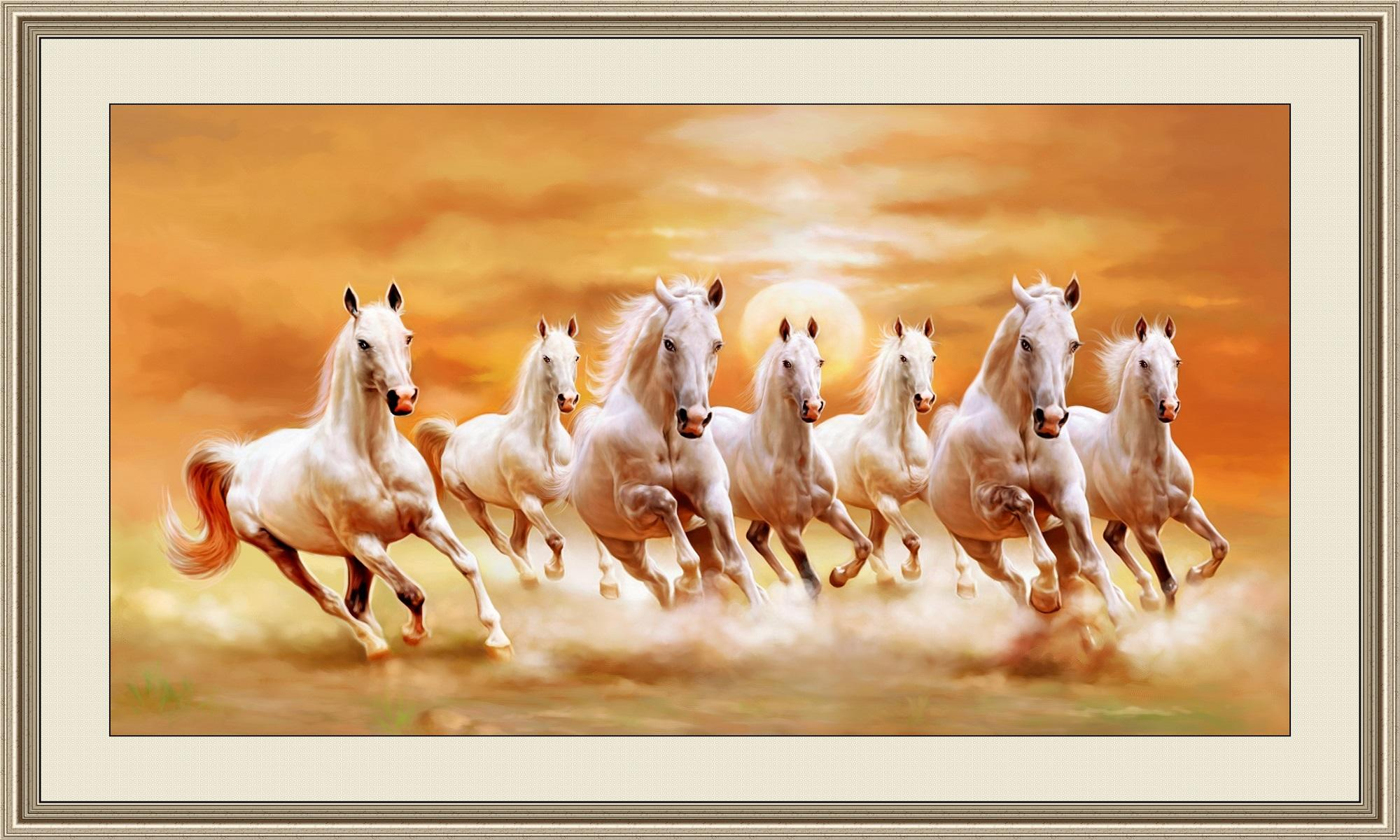 Seven White Horses Wallpaper Running Horse Wallpaper High Resolution 355854 Hd Wallpaper Backgrounds Download