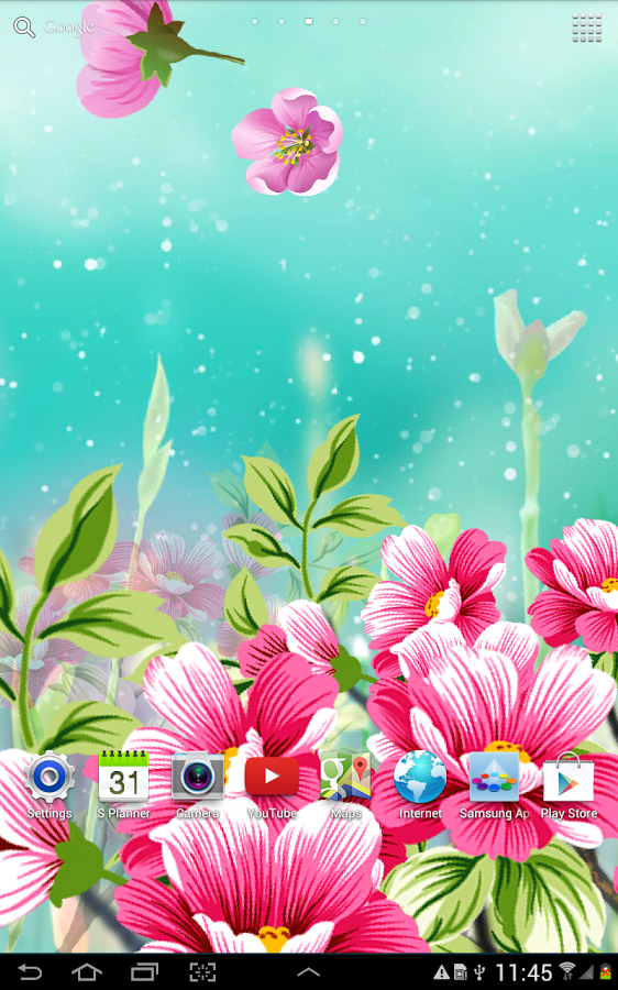 Animated Flower Wallpapers For Mobile , HD Wallpaper & Backgrounds