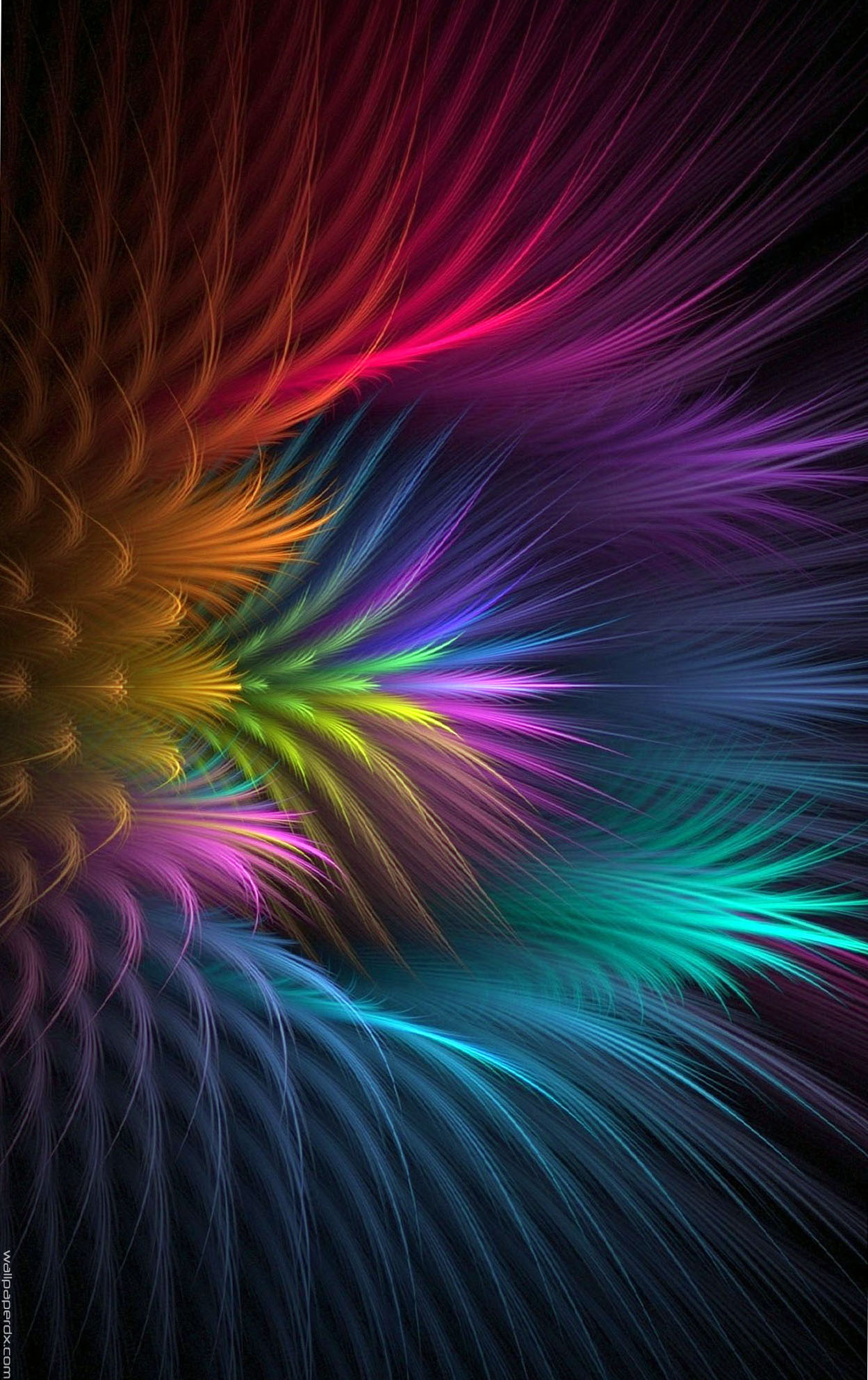 Abstract Feather Wallpapers Feather Flower Abstract