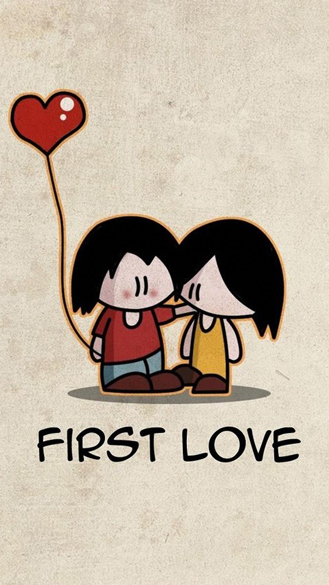 Cartoon Love Iphone 6 Wallpapers Hd - Love Lock Screen Hd , HD Wallpaper & Backgrounds