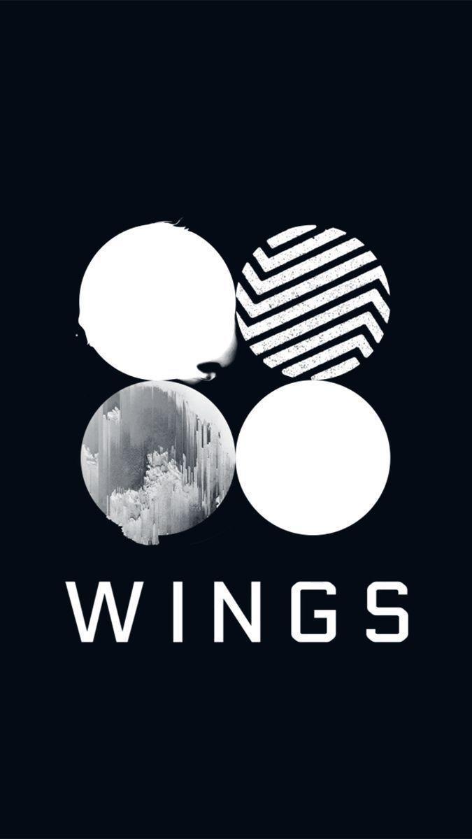 Bts Logo Wallpaper Bts Wings Album Cover 364073 Hd Wallpaper Backgrounds Download
