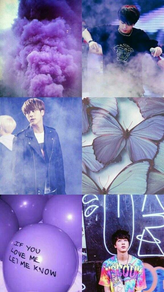 Jin Aesthetic Wallpaper Purple 364176 Hd Wallpaper Backgrounds Download