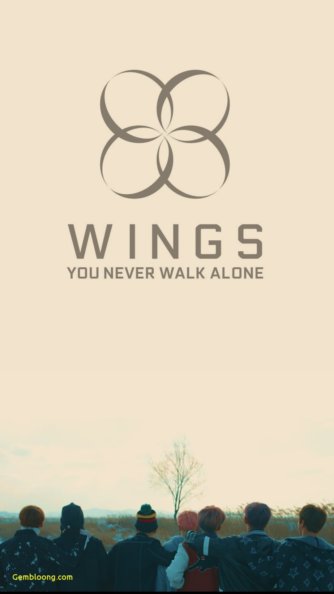 Bts Tumblr Wallpaper Bts Wings You Never Walk Alone Logo
