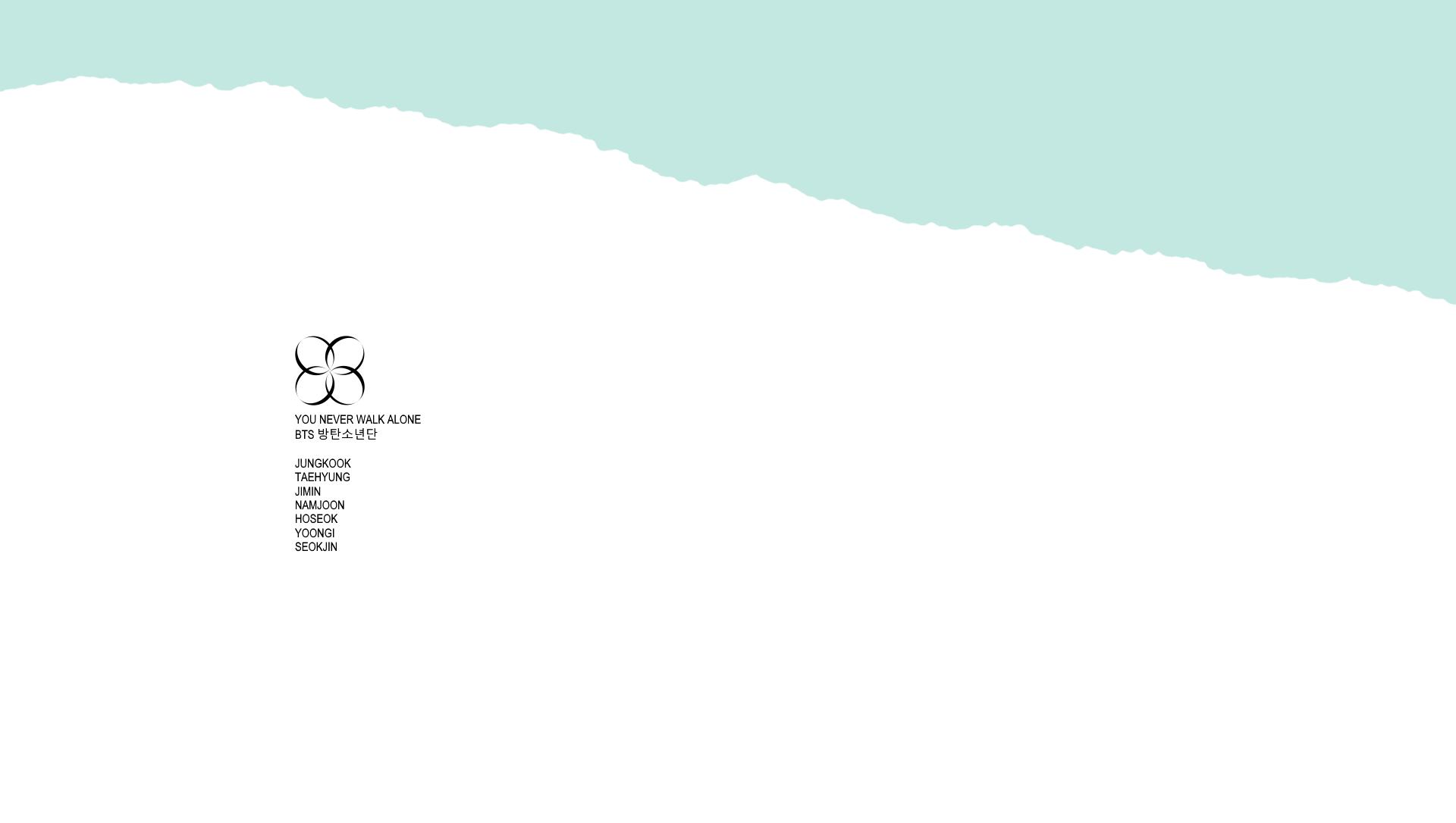 You Never Walk Alone Desktop Wallpaper Tumblr Bts 364583