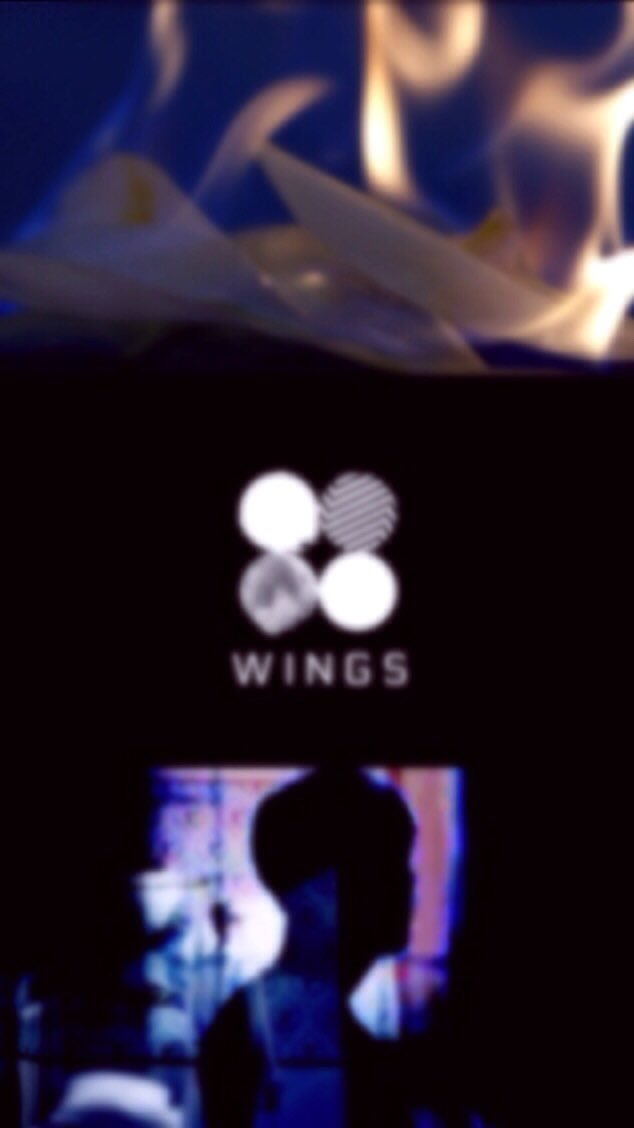 ✨❤️bts Wallpapers❤ ✨ On Twitter - Dark Bts Wallpaper Wings , HD Wallpaper & Backgrounds