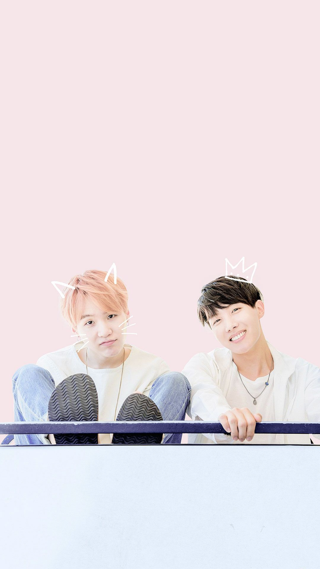 Bts - Bts Jhope And Suga , HD Wallpaper & Backgrounds