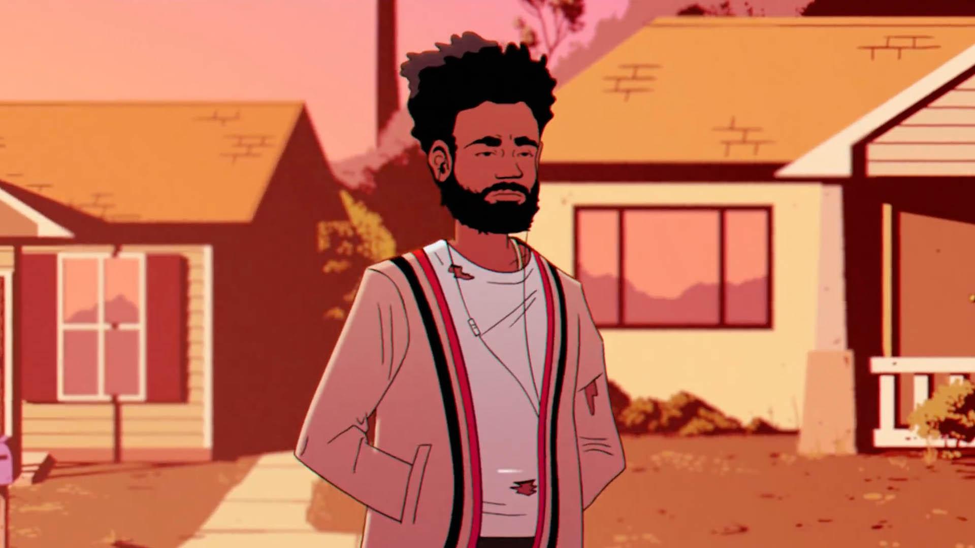 Childish Gambino Drops 'feels Like Summer' Animated - Donald Glover Feels Like Summer , HD Wallpaper & Backgrounds