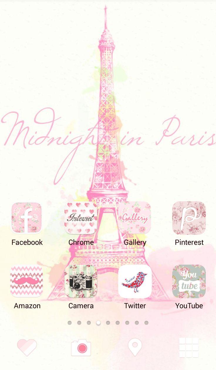 Cute Pink Eiffel Tower Wallpaper Hd