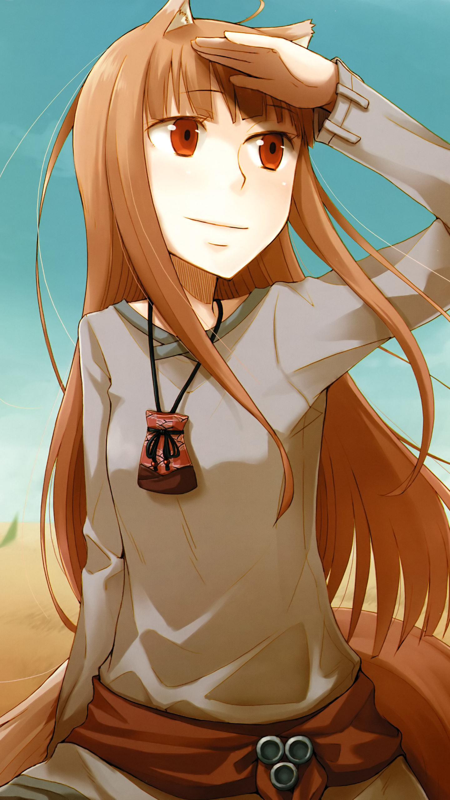 Wallpaper Holo Spice And Wolf Phone 369519 Hd Wallpaper