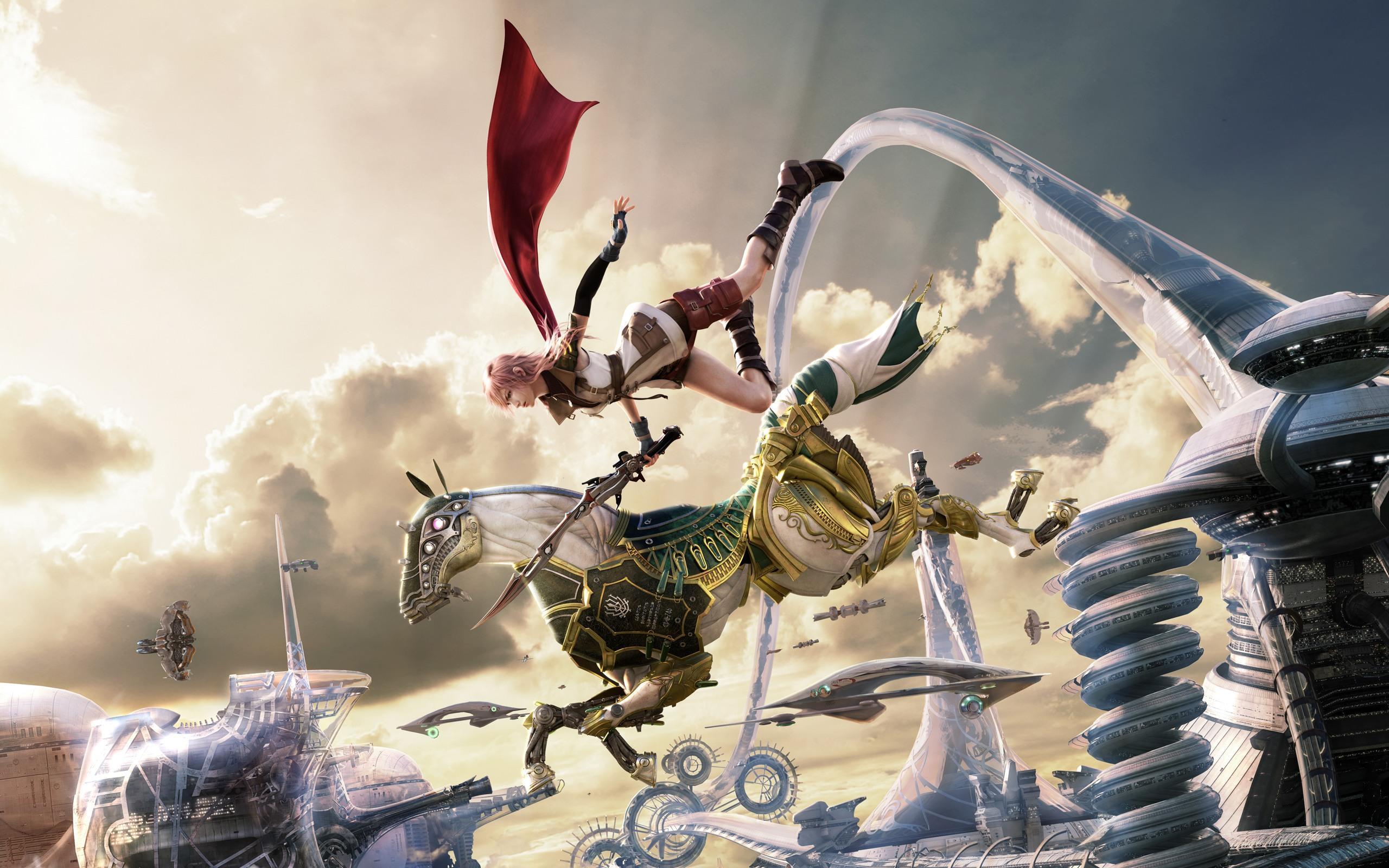 The Power Of Odin Final Fantasy Lightning And Odin 370180
