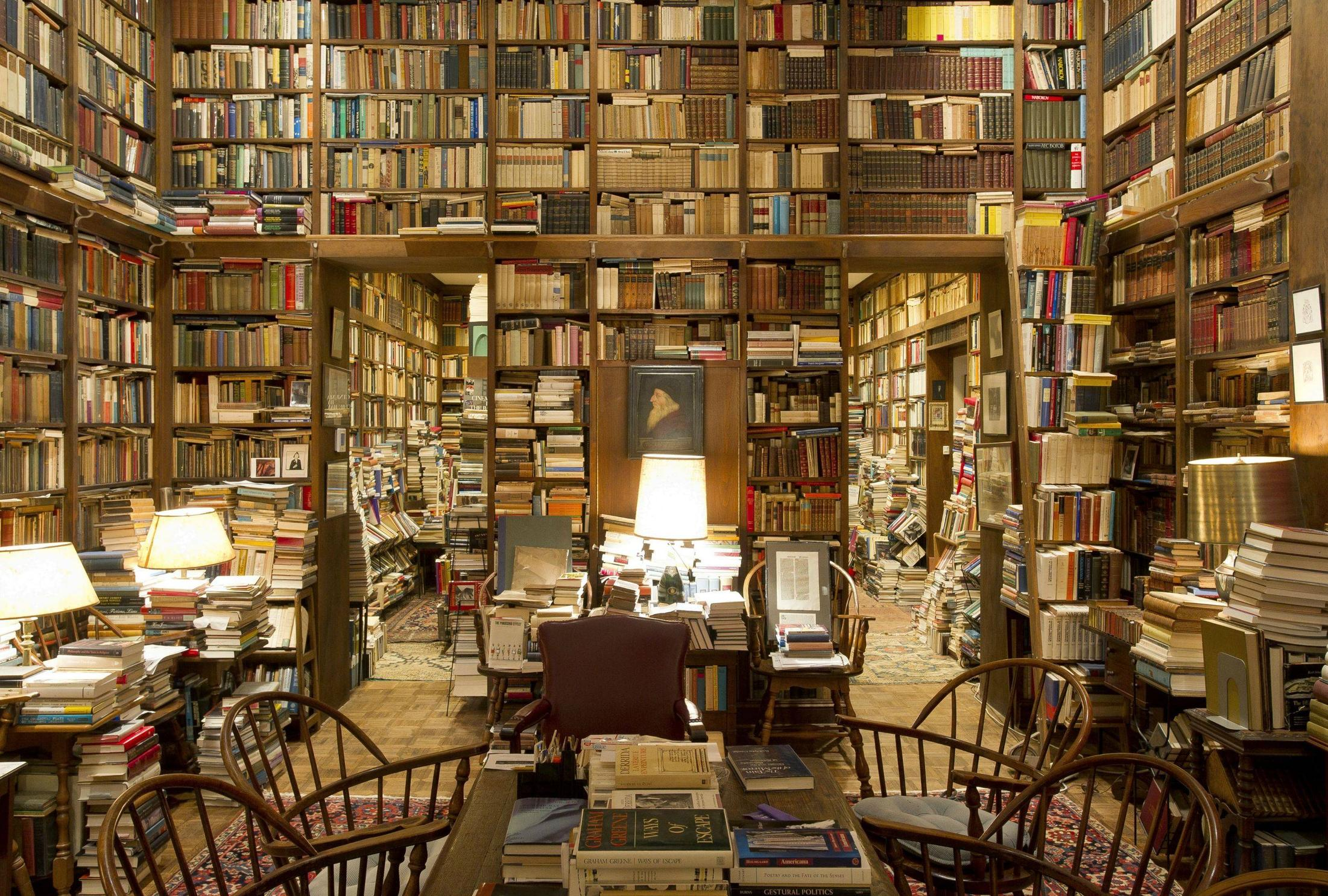 Library Wallpaper Hd - Cozy Library , HD Wallpaper & Backgrounds