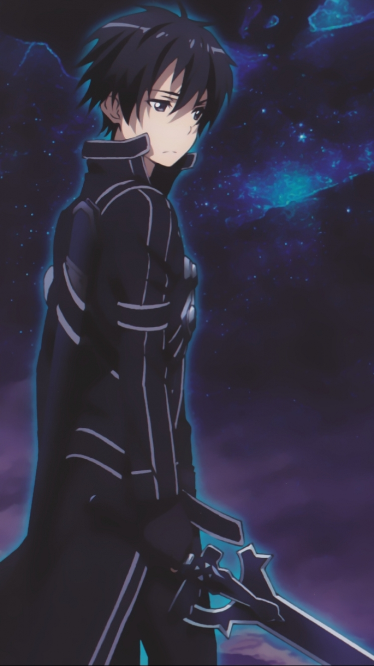 Anime Sword Art Online Mobile Wallpaper Sao Kirito Wallpaper