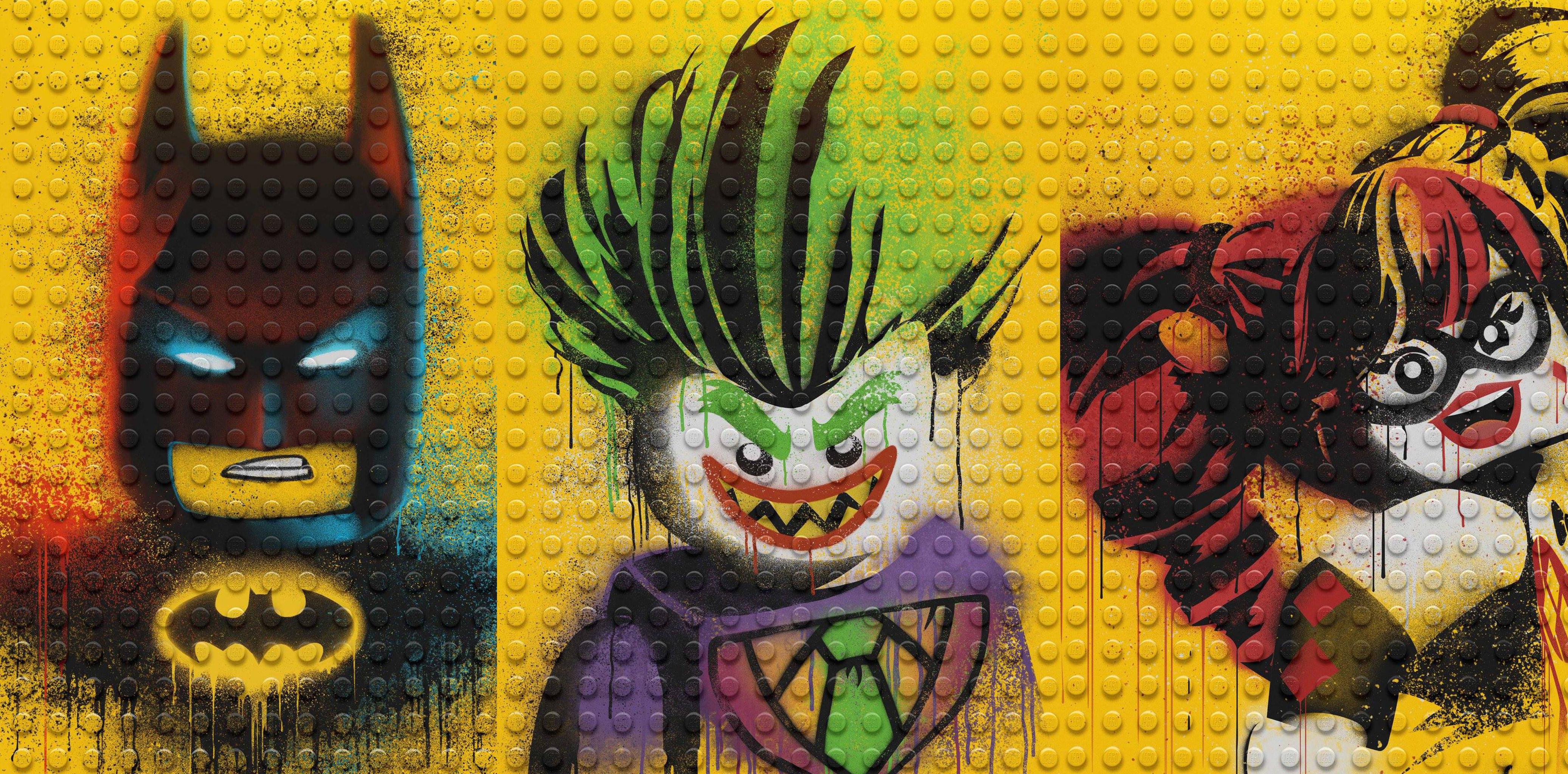 The Lego Batman Harley Quinn And Joker Lego Batman Movie