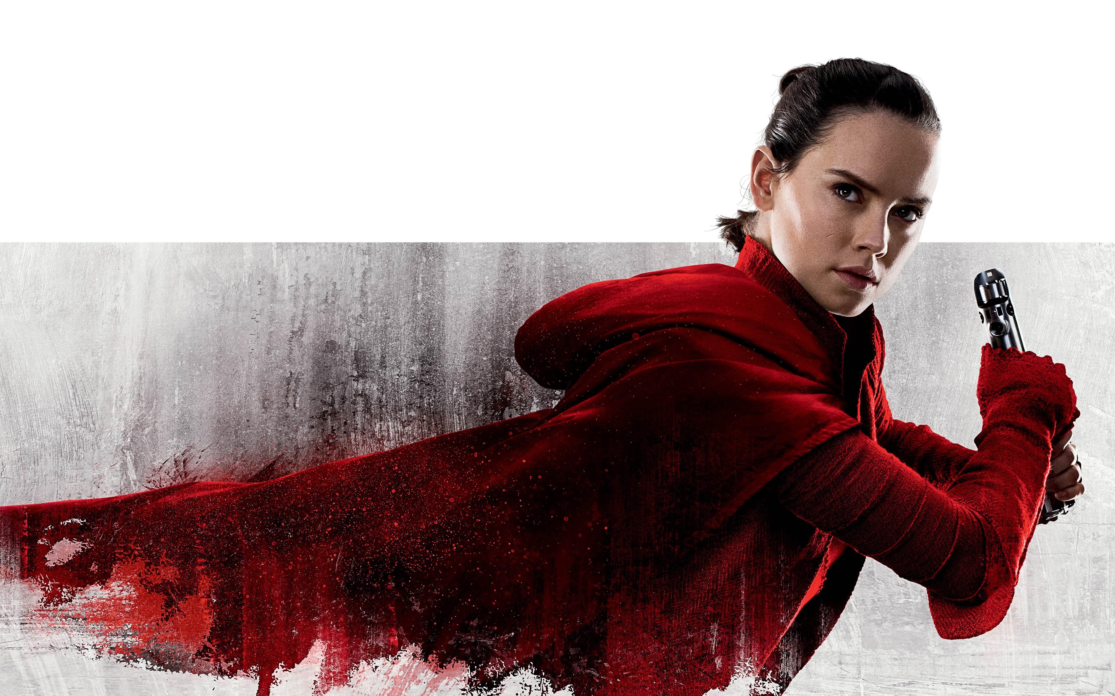 Star Wars The Last Jedi Rey Wallpaper 1080p , HD Wallpaper & Backgrounds