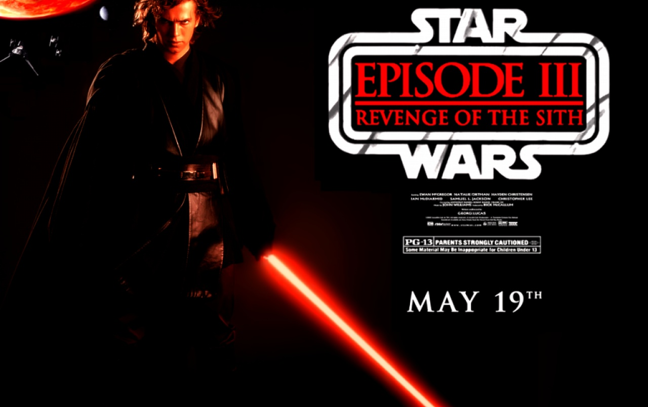 Revenge Of The Sith Wallpaper - Star Wars , HD Wallpaper & Backgrounds
