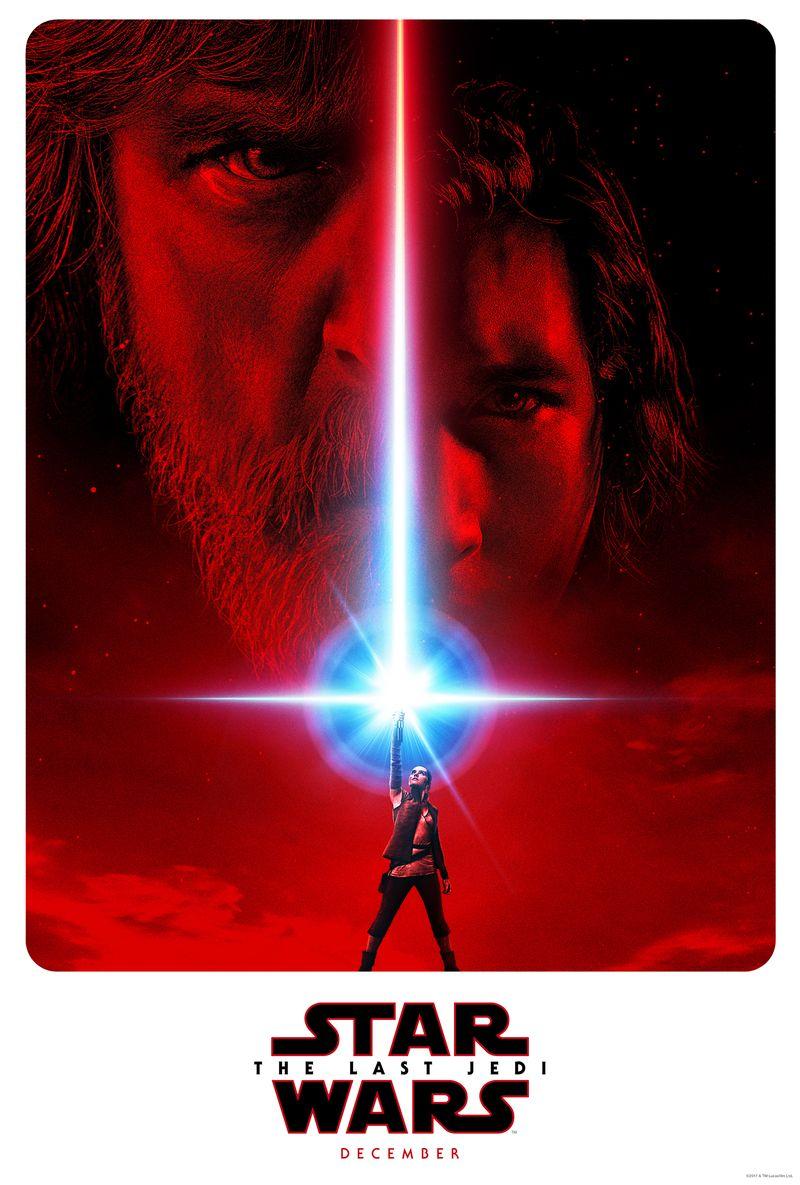 Star Wars Episode Viii - Star Wars The Last Jedi Poster 2017 , HD Wallpaper & Backgrounds