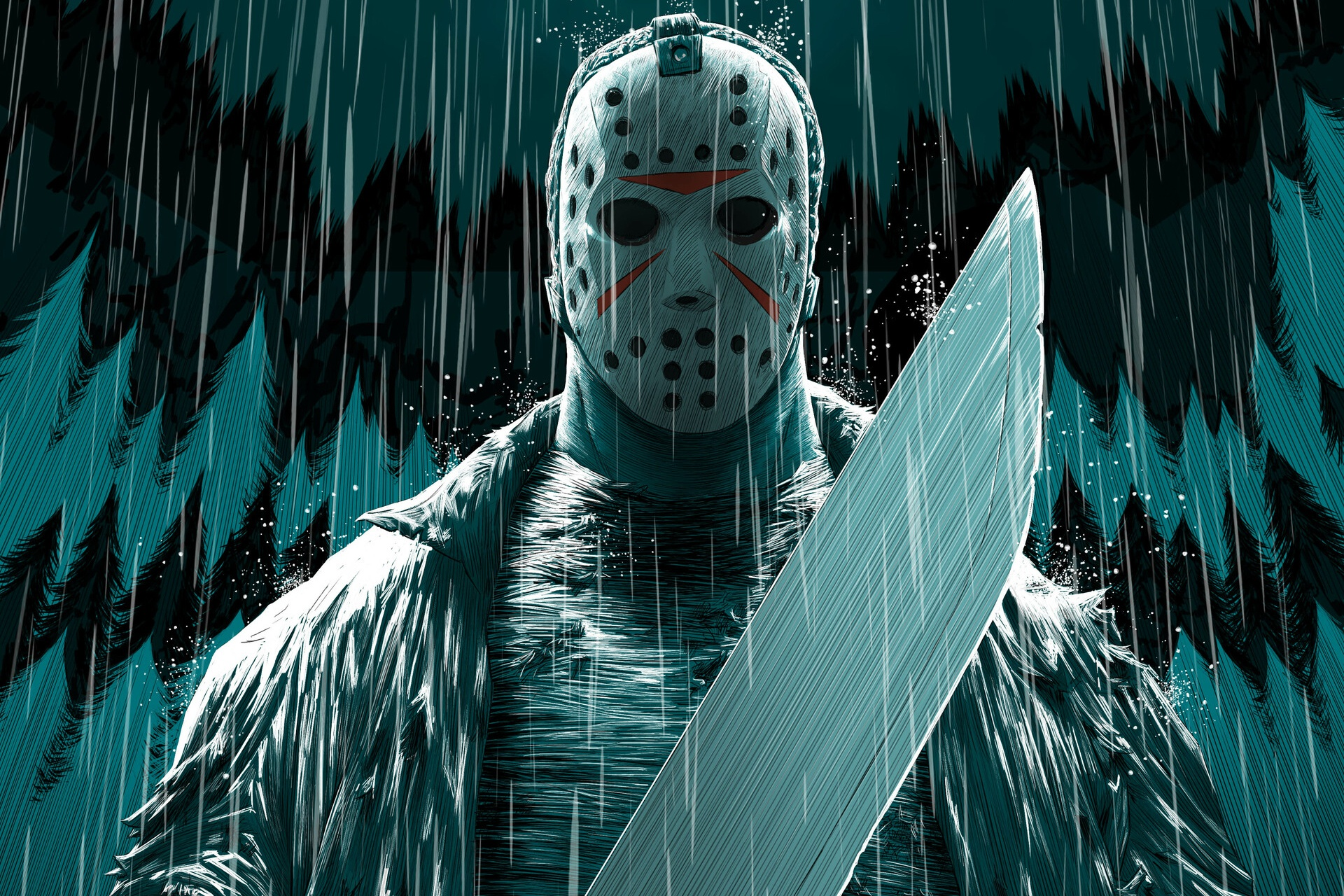 Wallpaper Of Jason Voorhees Mask Movie Friday The Swag