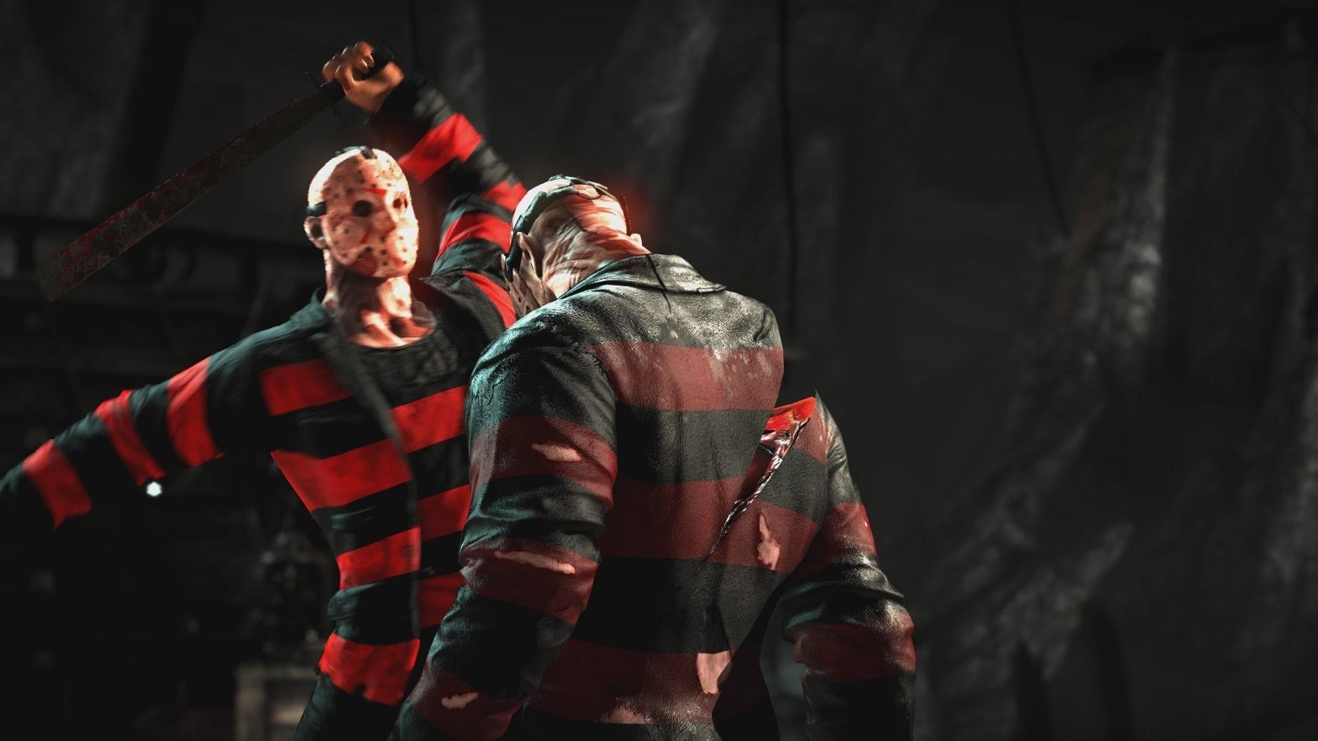 Dark Freddy Vs Jason Freddy Krueger Jason Voorhees Mortal